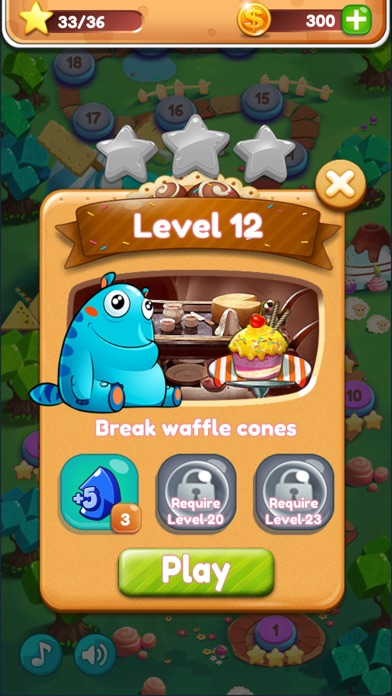 Cookie monster saga app image