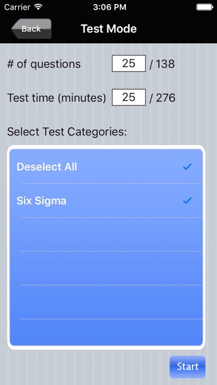 Six Sigma Green Belt Exam Prep screenshot-3