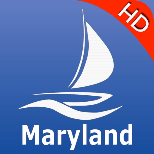 Maryland GPS Nautical charts pro