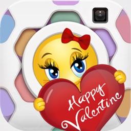 Vamoji Pic - Valentine Emoji Stickers Photo Effect