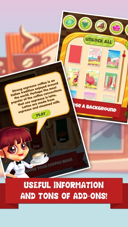 Coffee Dessert Making Salon - food maker games & candy ice cream make for kids! screenshot-3