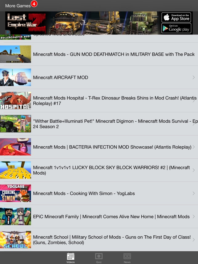 Mods For Minecraft PC On The App Store - Minecraft mods spielen wie