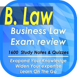 Business Law Exam Review: 1600 Quizzes & Professional Notes