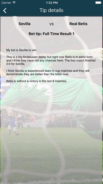 Betting Tips Football (Soccer) - Betting advisor for Premier League, La Liga Spain, Bundesliga, Calcio