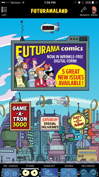 Futuramaland screenshot-0