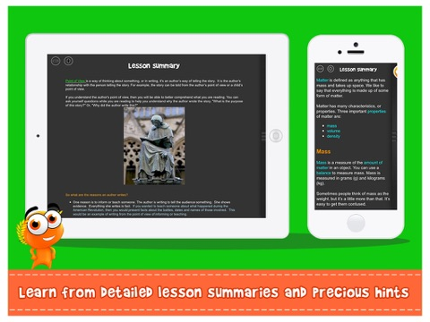 Screenshot #4 for iTooch 3rd Grade App | Math, Language Arts and Science