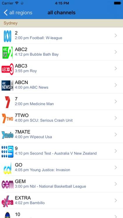 Australias TV Guide By CHANG LONG WU