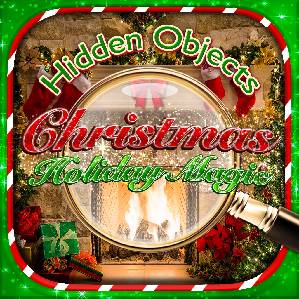 Hidden Objects - Christmas Holiday Magic Celebration & Object Time ...