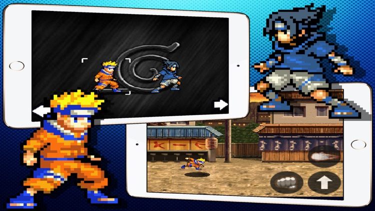 Ninja Adventure - Beat em Up Game - Naruto Versions by
