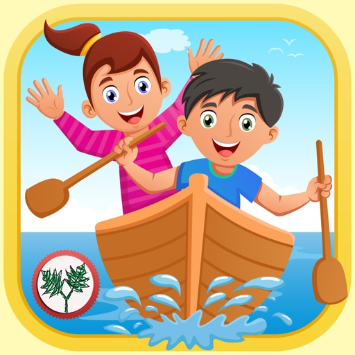 Row Your Boat - Sing Along and Interactive Playtime for Little Kids
