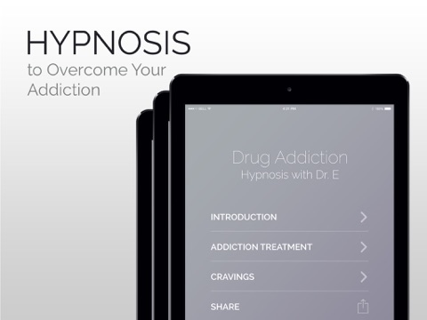 Drug Addiction Hypnosis Treatment with Dr.E - How to Become Sober-ipad-1