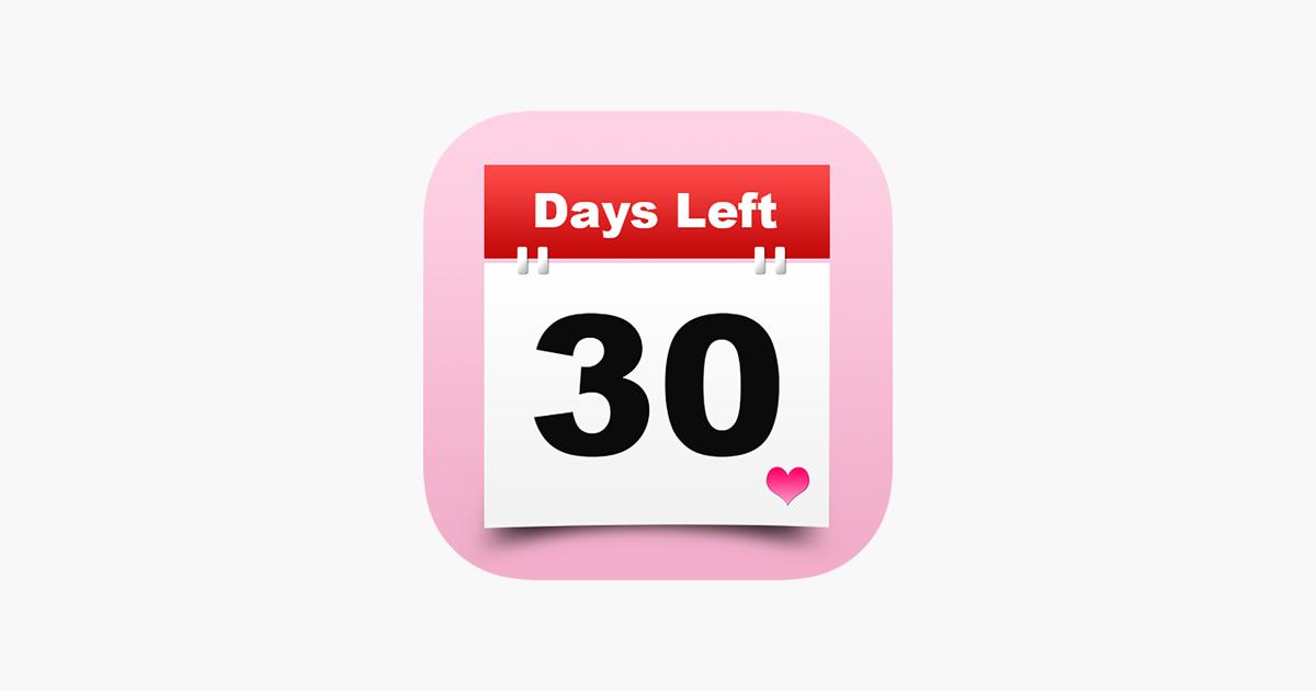 Calendar Wallpaper App : event countdown days left counter date reminder widget