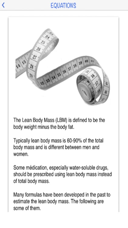 Lean Body Mass calculator by AIMapps screenshot-3