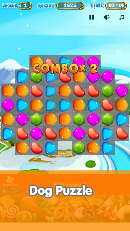 Match-3 Puzzle Candy Mania