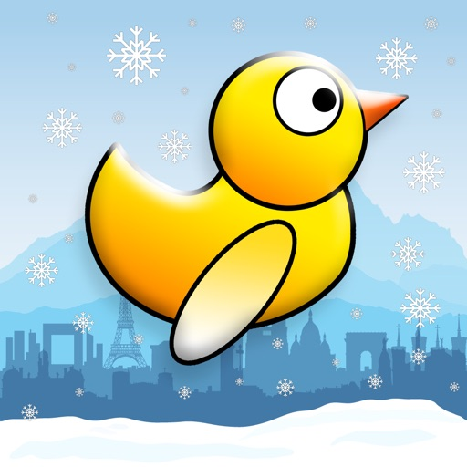 Duck Run - Adventure of a Flappy Tiny Snow Bird