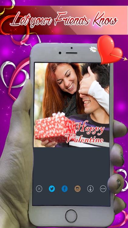 Photo Studio Writer - Put Valentine Love Text on Pictures screenshot-3