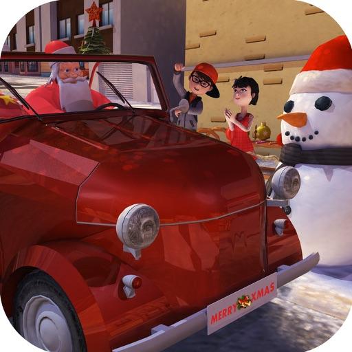 Christmas  Santa 3d kids Car Parking game