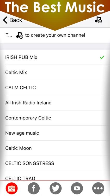 Celtic soothing music & Irish radios - The best calming & relaxing Ireland radio fm stations
