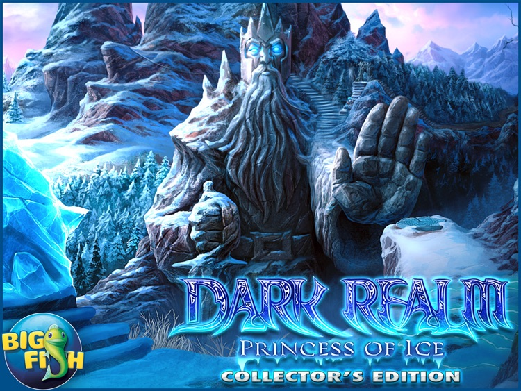 Dark Realm: Princess of Ice HD - A Mystery Hidden Object Game (Full) screenshot-4