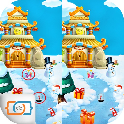 Spot The Differences - Christmas - Hidden Object