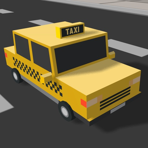 Taxi Race Driver - Free Crazy Pixelated Game of Blocky Cars