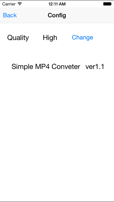 Simple MP4 Converter screenshot two