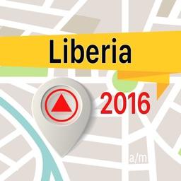 Liberia Offline Map Navigator and Guide