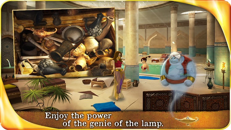 Aladin and the Enchanted Lamp - Extended Edition - A Hidden Object Adventure screenshot-3
