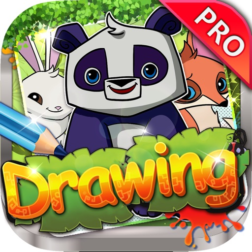 Drawing Desk Animal Jam : Draw and Paint Coloring Books Edition Pro