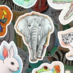 Sticker Explorer: Animal World