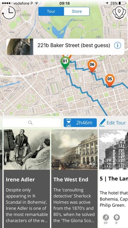Sherlock Holmes London Tour screenshot-3