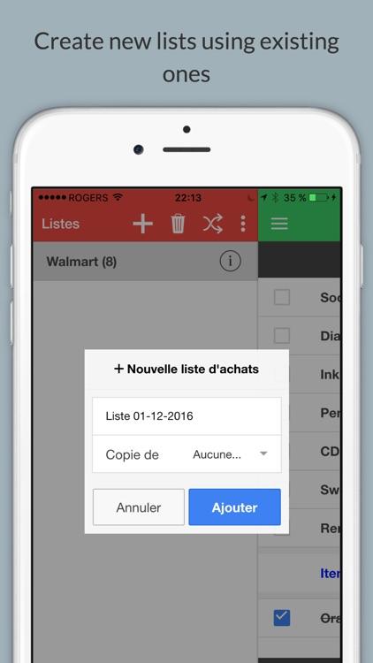 EZ Shopping List Plus screenshot-3