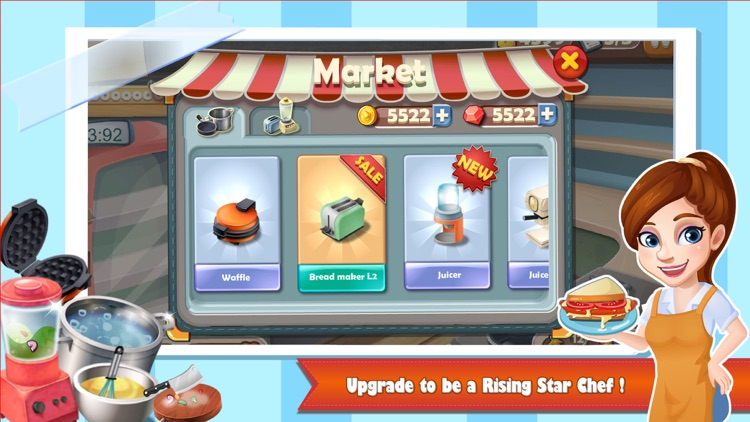 Rising Super Chef - Cooking Game screenshot-3