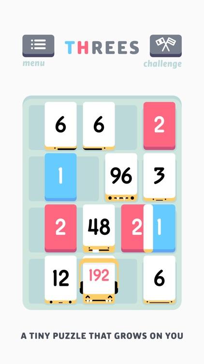 Threes! Free screenshot-0