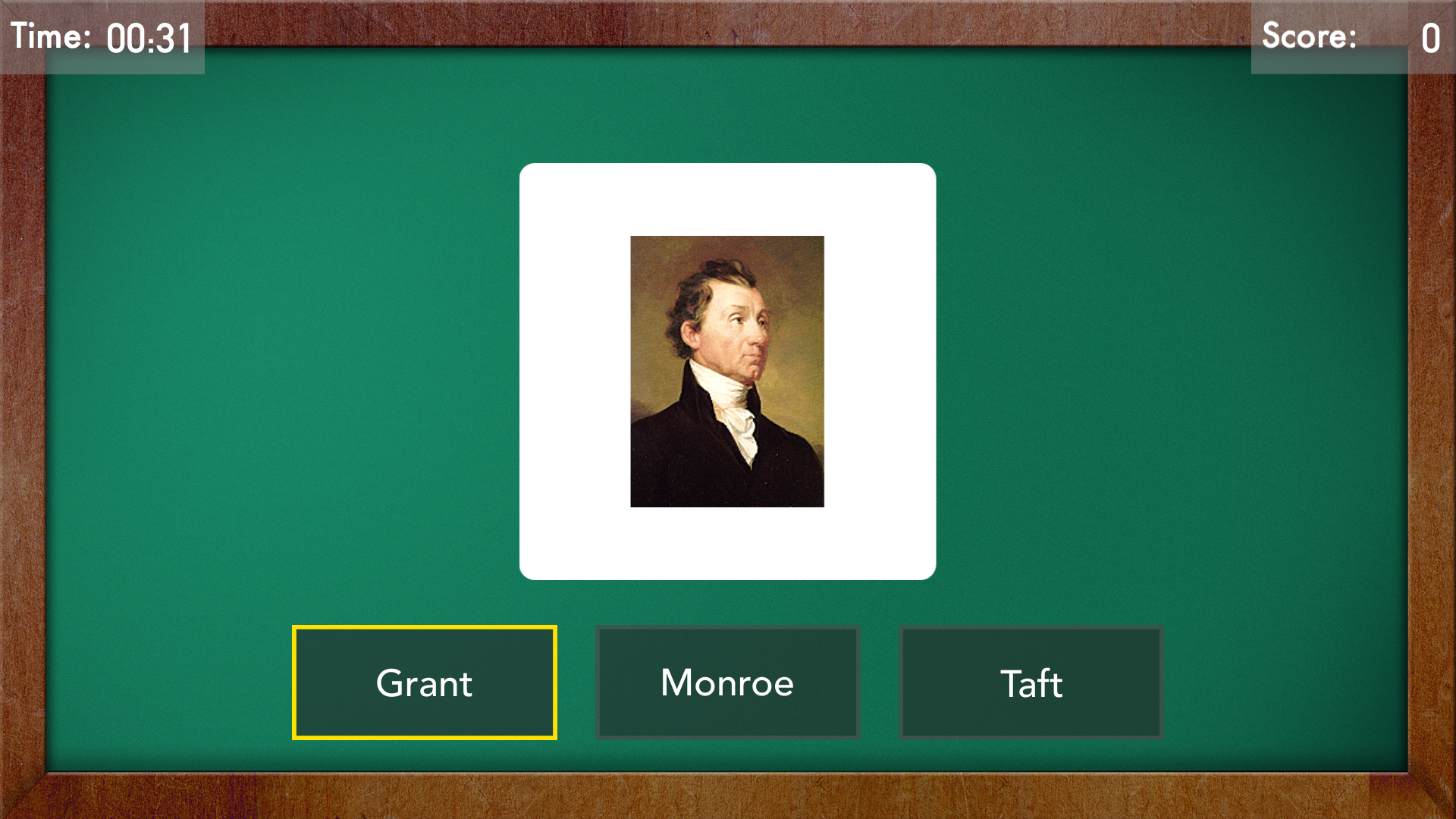 NAME THAT PRESIDENT: Presidential Portrait & Photo Quiz Flash Card Game screenshot 7