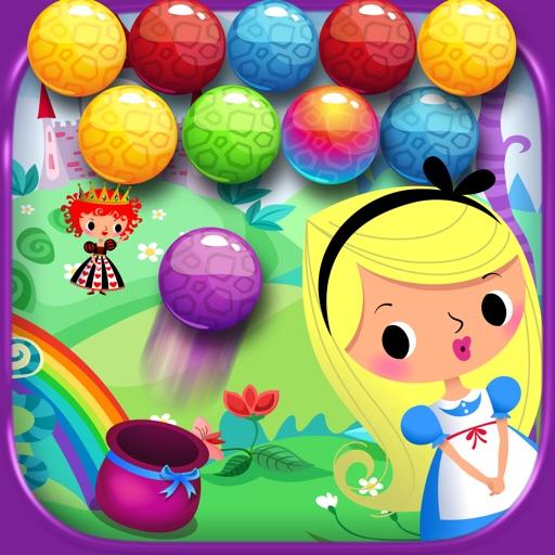 Alice in Bubble Candy Pop - Arcade Mania FREE