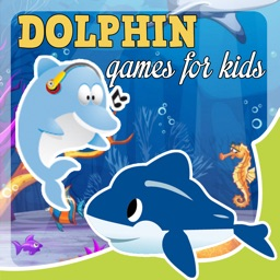dolphin games free for kids - jigsaw puzzles & sounds