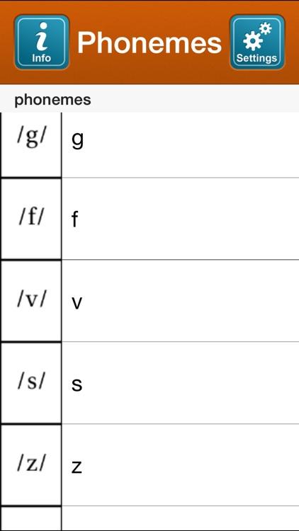 SmallTalk Phonemes screenshot-3