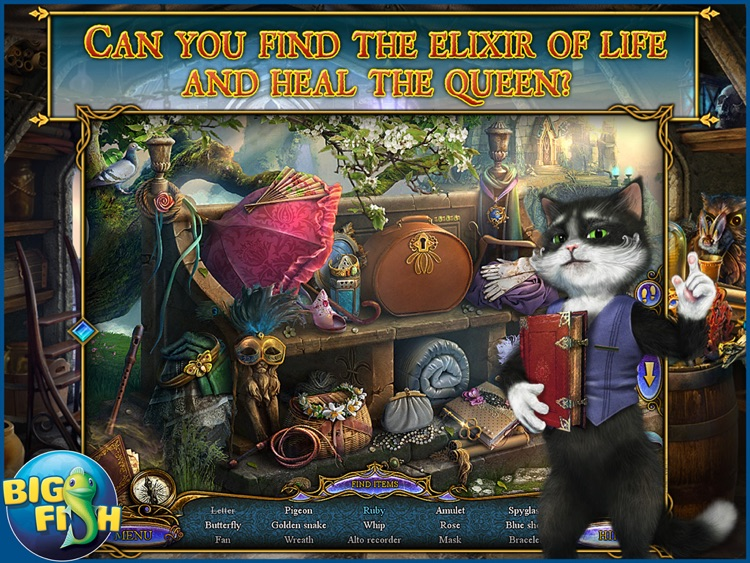 Dreampath - The Two Kingdoms HD - A Magical Hidden Object Game