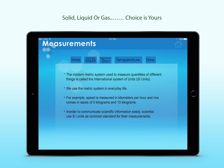Measurements In Chemistry