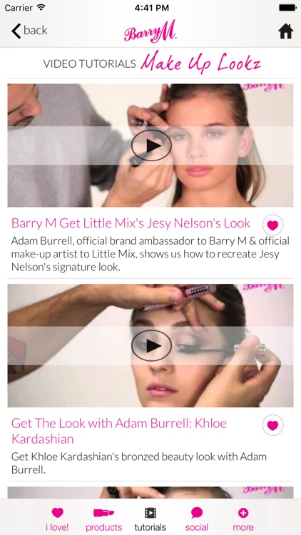Barry M Lookz – Nail and Make Up Video Tutorials screenshot-3