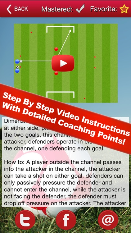 Soccer Attacking Sessions