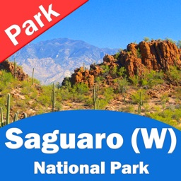 Saguaro National Park (WEST) – GPS Offline Park Map Navigator