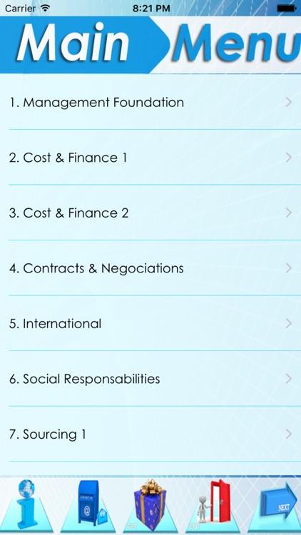 Supply Management Exam Review (Part1): 1500 Study Notes & Exam Quiz screenshot-3