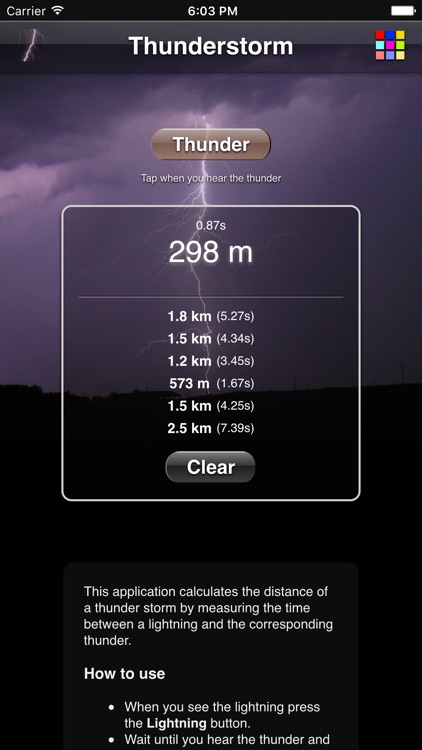 Thunderstorm Calculator screenshot-3