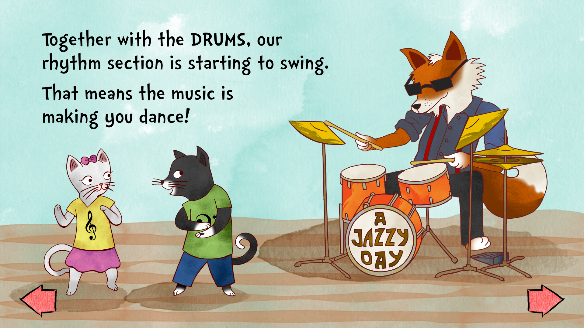 A Jazzy Day - Music Education screenshot 13