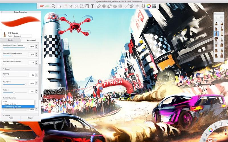 Autodesk Sketchbook review screenshots