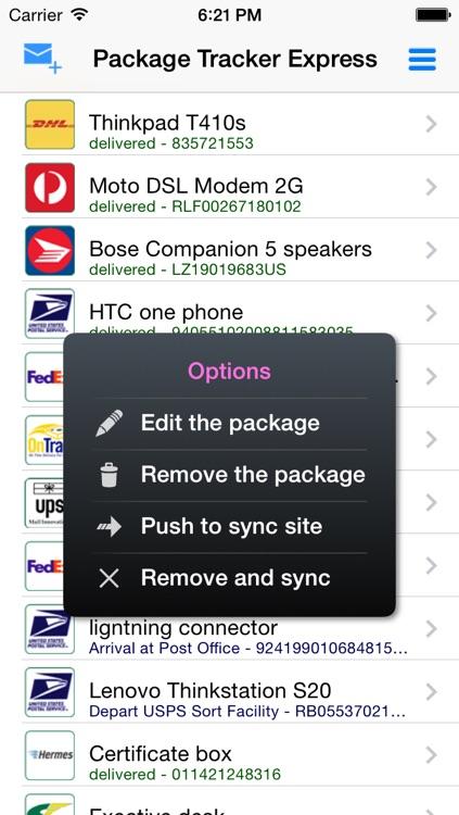 Package Tracker Pro screenshot-3