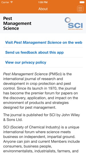 Pest Management Science on the App Store