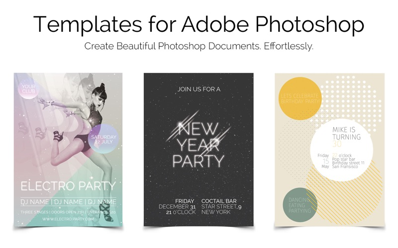 Templates For Photoshop review screenshots